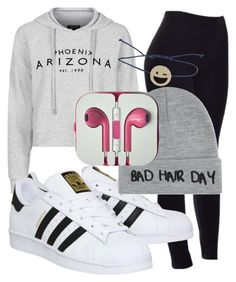 """""""Untitled #106"""" by diva-fashionista ❤ liked on Polyvore featuring Topshop, adidas, Local Heroes, women's clothing, women, female, woman, misses and juniors"""