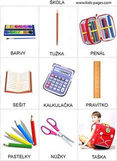 Pro Štípu: Škola Stipa, Montessori Materials, Preschool Worksheets, Pictogram, English Vocabulary, Colouring Pages, Card Games, Crafts For Kids, Language