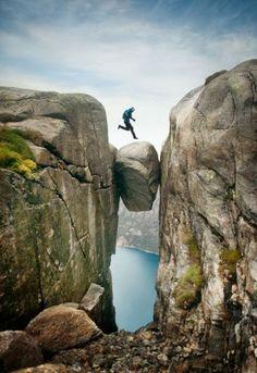 Kjeragbolten, Forsand, Norway