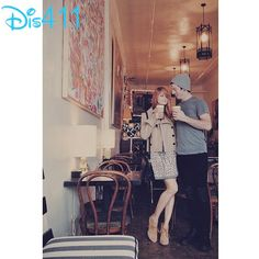 Photo: Debby Ryan And Josh Dun At A Cafe March 24, 2014