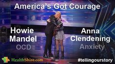 Anna Clendening and Howie Mandel on #anxiety, #depression & #ocd