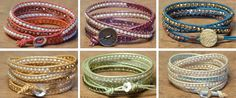 Tricks to laddering wrapped bracelets.