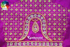 Designer Bridal Blouse. Beautiful Vanki Design Blouse from KaathayiniDesignerWorks.  https://www.facebook.com/kaathyayinidesignerworks