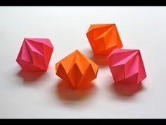 """「元気玉」折り紙""""Spirit Bomb""""origami - YouTube"""