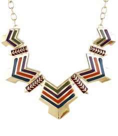 Shop Multicolor Glaze Gold Chain Necklace online. Sheinside offers Multicolor Glaze Gold Chain Necklace & more to fit your fashionable needs. Free Shipping Worldwide!