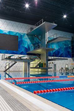 "Interior Swimming pool sport complex  - Archbureau ""2A"""