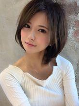 アフロート ルヴア 新宿(AFLOAT RUVUA) 【RUVUA】山田信夫 大人かわいい小顔ノーブルショートロブ