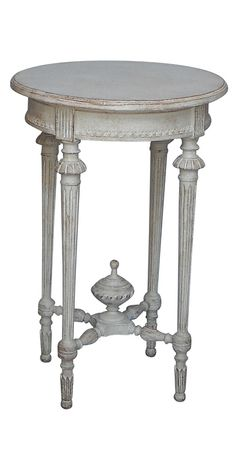 Gustavian side table 1st Dibs
