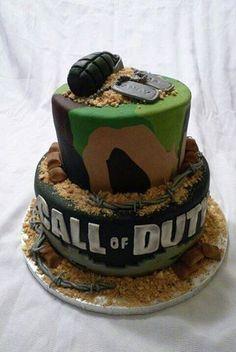 Gâteau call of duty - SlyGeek