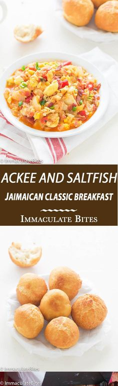 Jamaican Ackee and Saltfish - A Classic Jamaican Breakfast- hearty and satisfying .