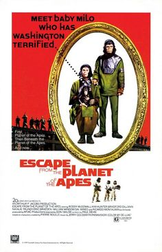 Escape from the Planet of the Apes Poster - Click to View Extra Large Image