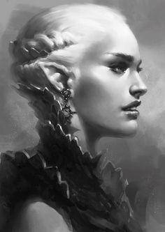 armored_elf_bust_by_arsinoes-d