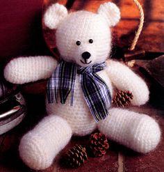 Winter White Bear