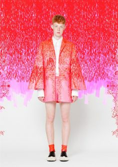 Designer Xénia Laffely, creates characters, and  their clothing  #menswear  # fashion