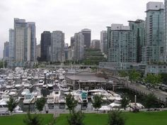 Vancouver Photos at Frommer's - Vancouver dock on Coal Harbour