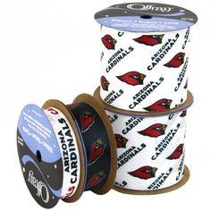 Offray NW7223AZ Arizona Cardinals Printed Craft Ribbon Pack, 12-Yard by Offray, http://www.amazon.com/dp/B00AAOYA48/ref=cm_sw_r_pi_dp_pTvRrb16AQ4JV