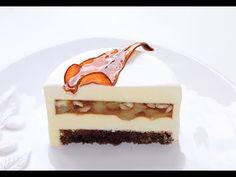Муссовый торт шоколад-имбирь-лайм ❤ Шоколадная зеркальная глазурь ❤ Cooking with Love - YouTube