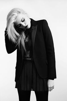 Sky Ferreira for Saint Laurent