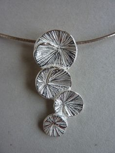 Art clay silver pendant                                                                                                                                                     More