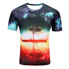 Landscape 3D Printed Unisex T-Shirt
