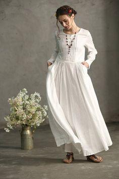 d3cbb8acc 2425 Best Linen dresses images