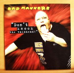 BAD MANNERS Don t knock the Baldhead Vinyl LP - Red River Ska Lager Delirium Go