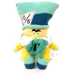 Disney Alice in Wonderland PookaLooz Plush Doll Mad Hatter.  I lost mine when i lost my keys :(