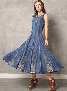 #girlsdresses #denimdress #vintagedresses