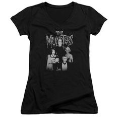 "Checkout our #LicensedGear products FREE SHIPPING + 10% OFF Coupon Code ""Official"" Munsters / Family Portrait-junior V-neck - Munsters / Family Portrait-junior V-neck - Price: $29.99. Buy now at https://officiallylicensedgear.com/munsters-family-portrait-junior-v-neck"
