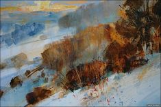 A painting by Chris Forsey (BBC)