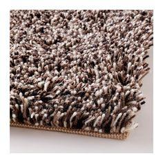 Hampen alfombra pelo largo rojo beige - Alfombra yute ikea ...