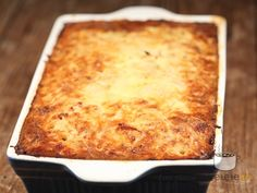 Baked cabbage with minced meat ~ Romanian Baked Cabbage, Romanian Food, Mince Meat, Lasagna, Food To Make, Macaroni And Cheese, Deserts, Good Food, Food And Drink