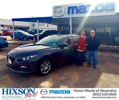 https://flic.kr/p/DbXn97 | Happy Anniversary to Jeremy on your #Mazda #Mazda3 from Brandon Holloway at Hixson Mazda of Alexandria! | deliverymaxx.com/DealerReviews.aspx?DealerCode=PSKP