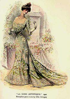 La Mode Artistique. 1900