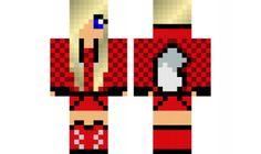 minecraft skin Wolf-Girl-6