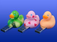 rubber duckies USB drives - clever