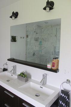 DIY Custom Bathroom Shelf