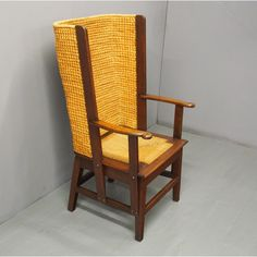 Featuring the traditional Orcadian woven straw back with marram grass (bentgrass) to the top rail, curved arms and a woven marram grass lift out seat. Outdoor Chairs, Outdoor Furniture, Outdoor Decor, Traditional, Antiques, Home Decor, Antiquities, Antique, Decoration Home