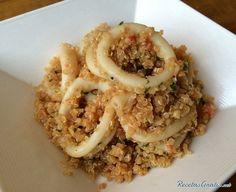 Aprende a preparar calamares con quinoa con esta rica y fácil receta.  La quinoa es un excelente alimento que se conoce como cereal aunque no lo sea, aporta mucho...