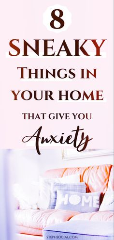 Your home should be your safe place, where you can feel comfort and peace, but for many it can actually be an anxiety trigger De Clutter Your Home Deal With Anxiety, Anxiety Tips, Organizing Hacks, Organization Ideas, Cleaning Hacks, Zone Cleaning, Cleaning Checklist, Self Development, Personal Development