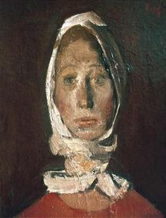 Portrait of a Girl - Corneliu Baba