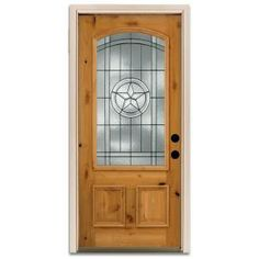 Door For The Front Of The House Steves U0026 Sons Star Lite Prefinished Knotty  Alder Wood Entry At The Home Depot