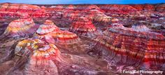 This place is called Colorful City, a wind-eroded geological wonder in north Xinjiang Uygur Autonomous Region of China ✯ ωнιмѕу ѕαη∂у