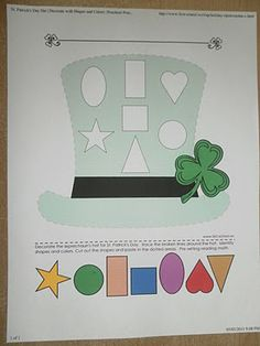St. Patrick's day worksheet  (Has much more than this on site!)
