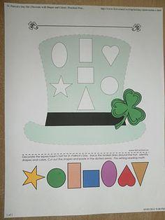 St. Patrick's day worksheet