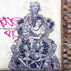 Work by @swoonhq in #London #Streetart #Swoon #StreetartLondon by toris64