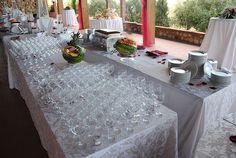 Pronti per l'aperitivo di benvenuto. Che le danze abbiano inizio!! #catering #matrimonio #wedding #accoglienza