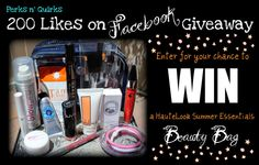 200 Likes on Facebook Celebration Giveaway Perk n'Quirks
