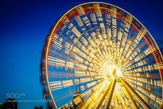 Navy Pier Ferris Wheel by onema Wheel In The Sky, Amusement Park, Memorial Day, Ferris Wheels, Fair Grounds, Navy, Travel, Hale Navy, Viajes