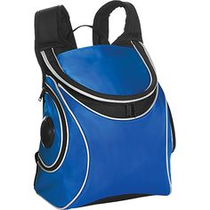 -Picnic Plus Cooladio Speaker Backpack Cooler ROYAL BLUE 14